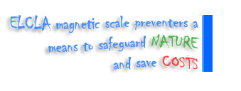 Elcla magnetic scale preventers a means to safeguard nature and save cost